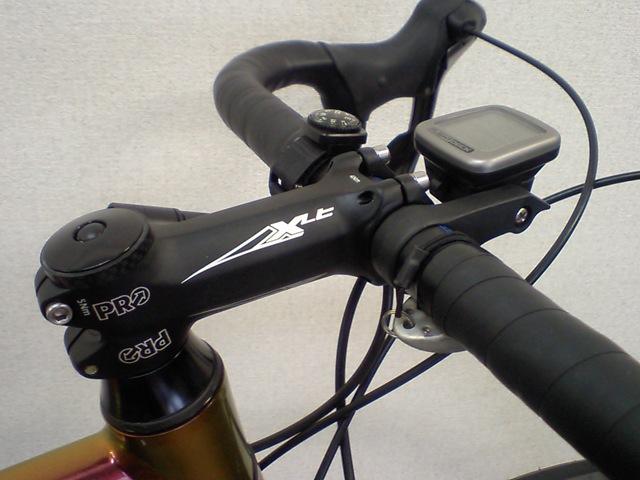 自転車の ステム 自転車 交換 : そこで1cmだけ短いステムに交換 ...